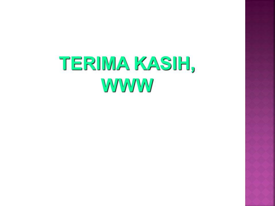 TERIMA KASIH, WWW