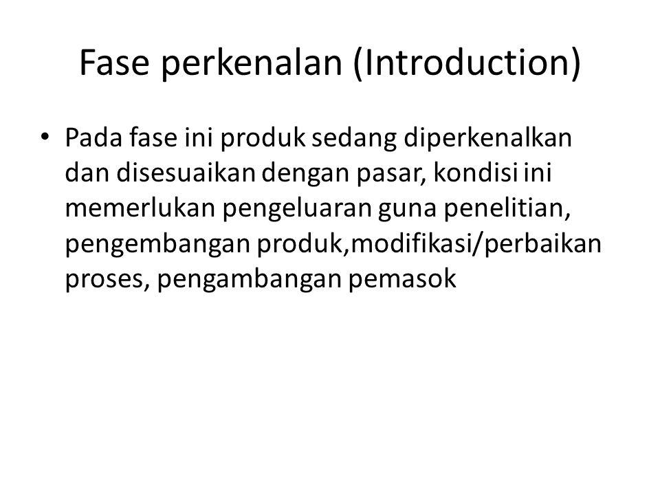 Fase perkenalan (Introduction)