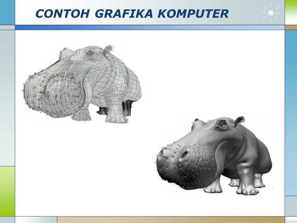 CONTOH GRAFIKA KOMPUTER