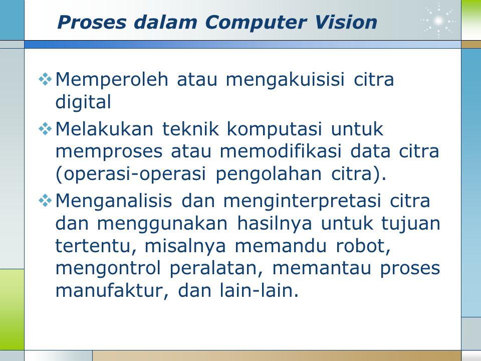 Proses dalam Computer Vision