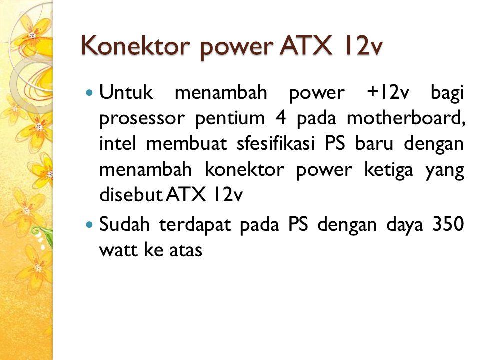 Konektor power ATX 12v