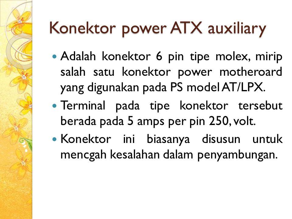 Konektor power ATX auxiliary