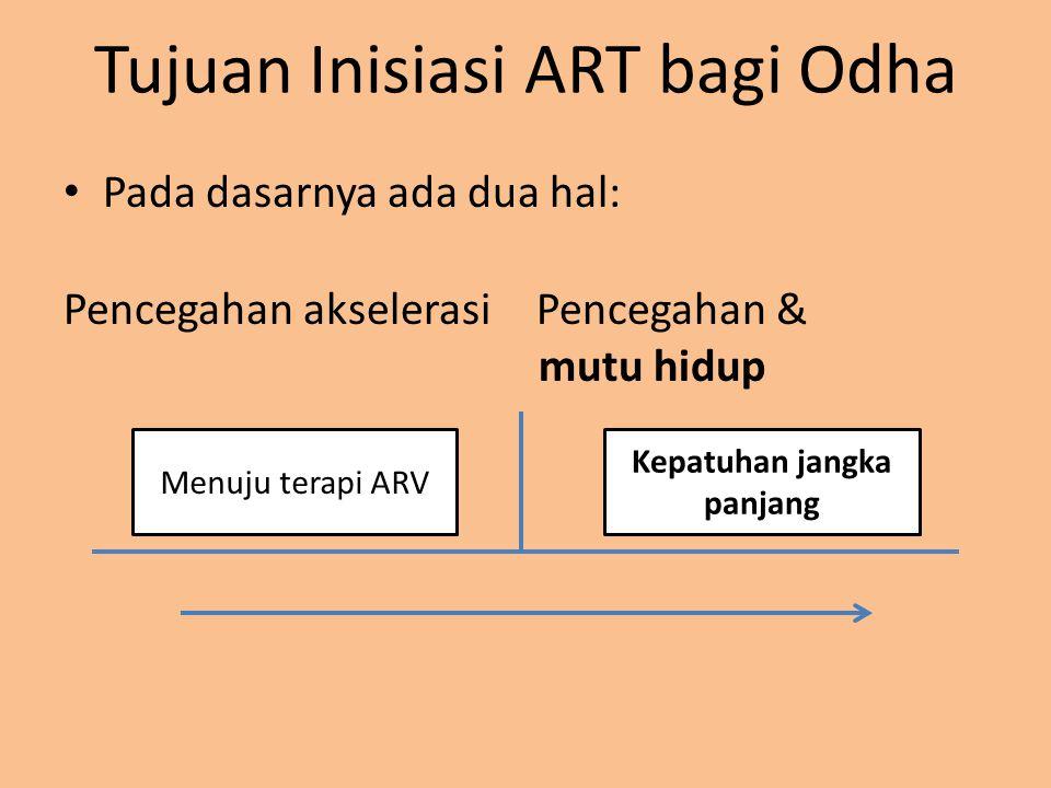Tujuan Inisiasi ART bagi Odha