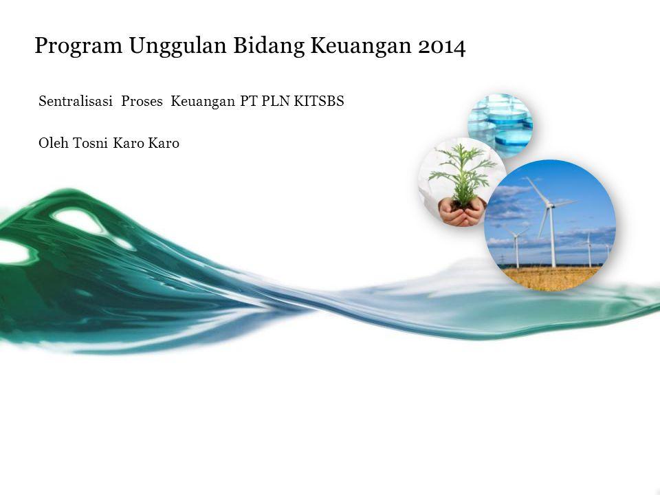 Program Unggulan Bidang Keuangan 2014