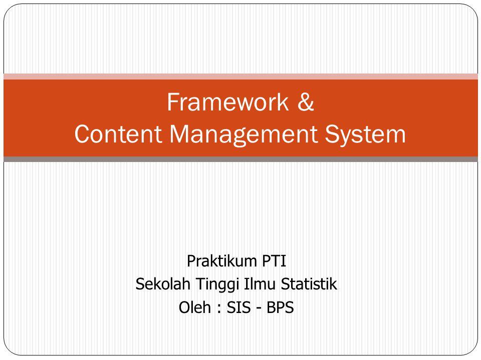 Framework & Content Management System