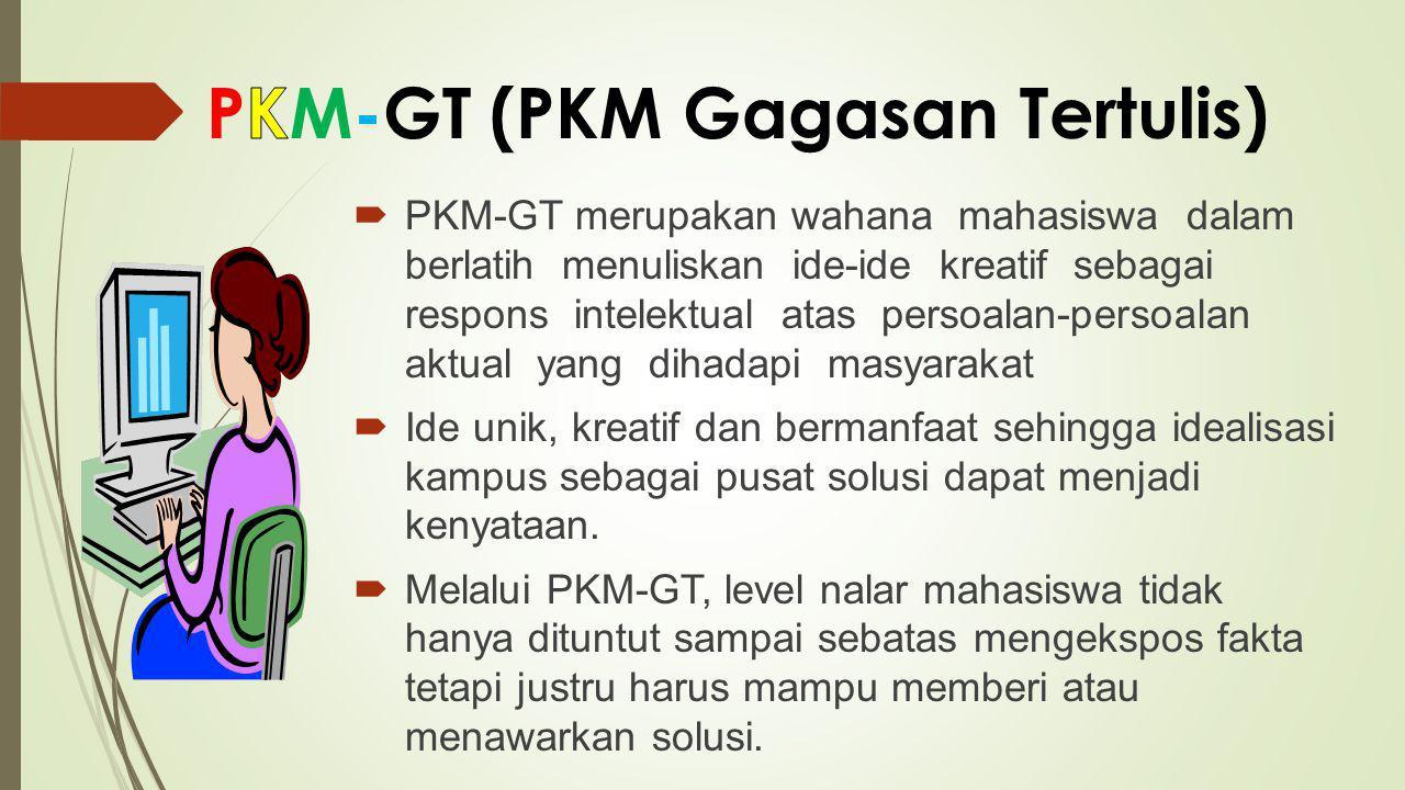 PKM-GT (PKM Gagasan Tertulis)