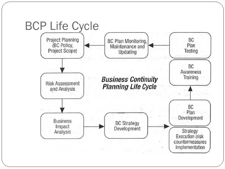 BCP Life Cycle