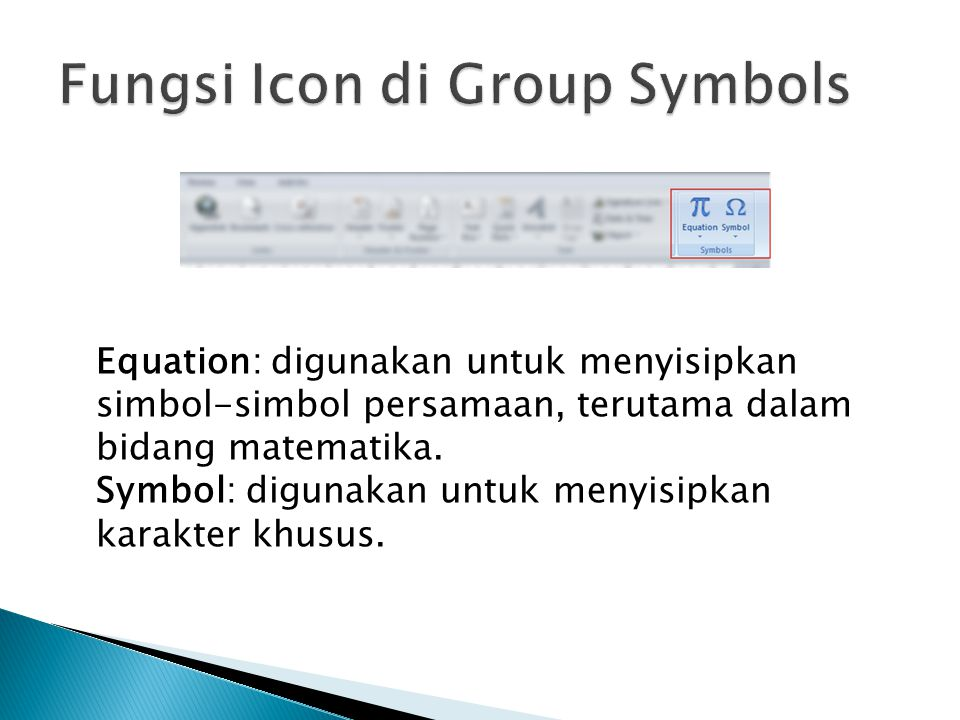 Fungsi Icon di Group Symbols