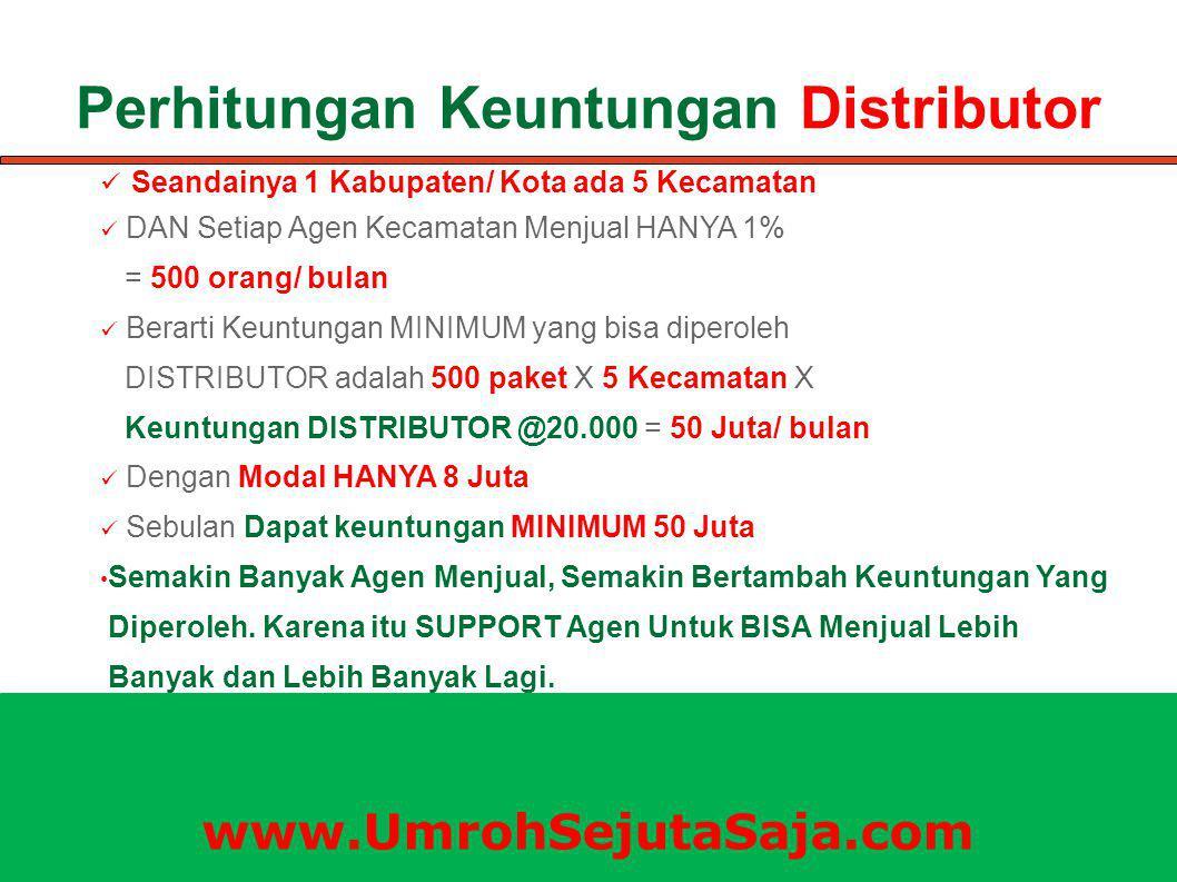 Perhitungan Keuntungan Distributor
