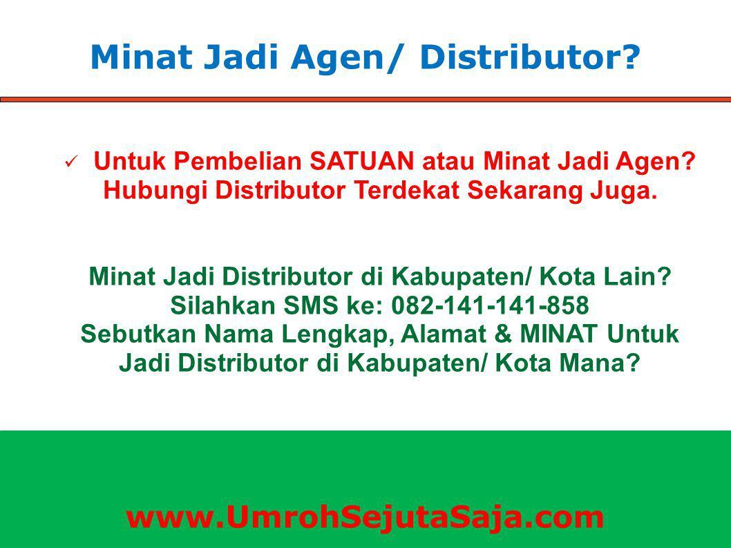 Minat Jadi Agen/ Distributor