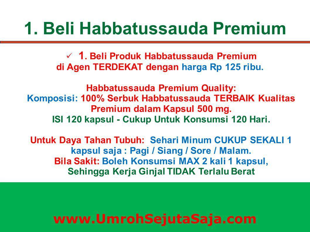 1. Beli Habbatussauda Premium