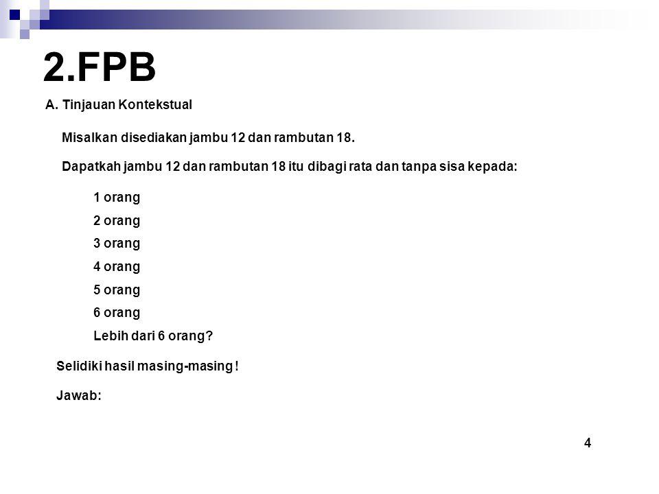 2.FPB A. Tinjauan Kontekstual