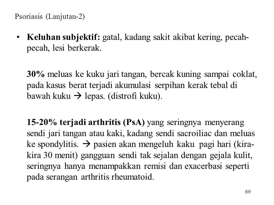 Psoriasis (Lanjutan-2)