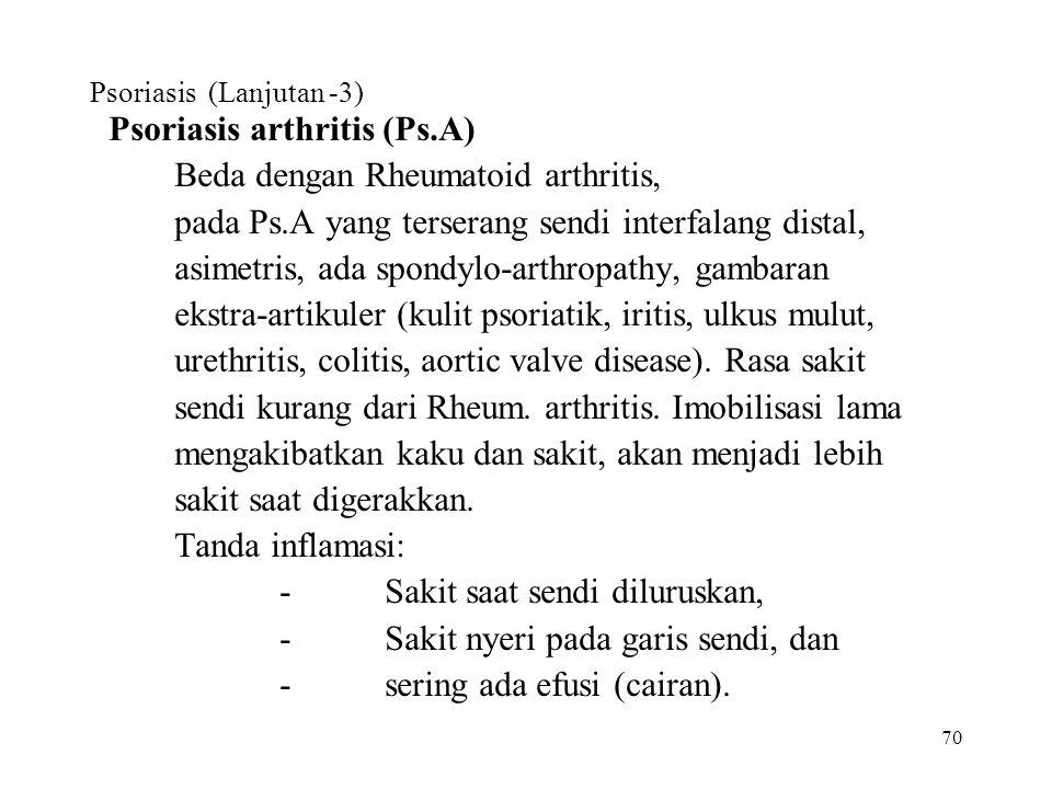 Psoriasis (Lanjutan -3)