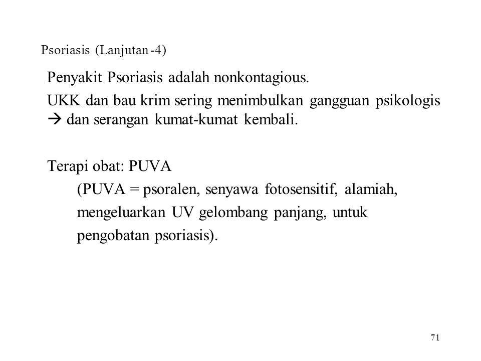 Psoriasis (Lanjutan -4)