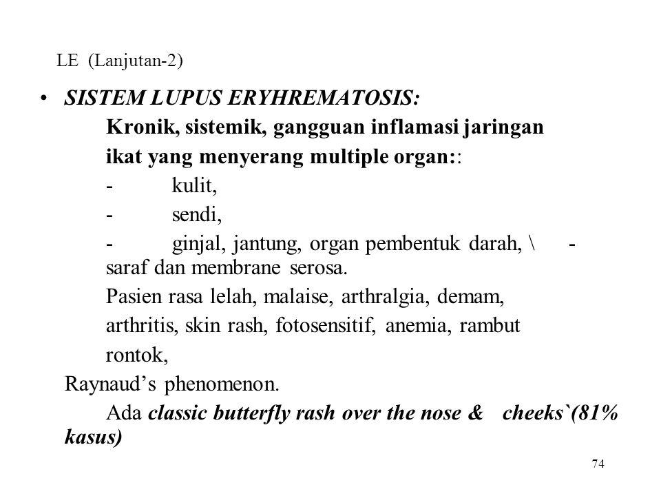 SISTEM LUPUS ERYHREMATOSIS: