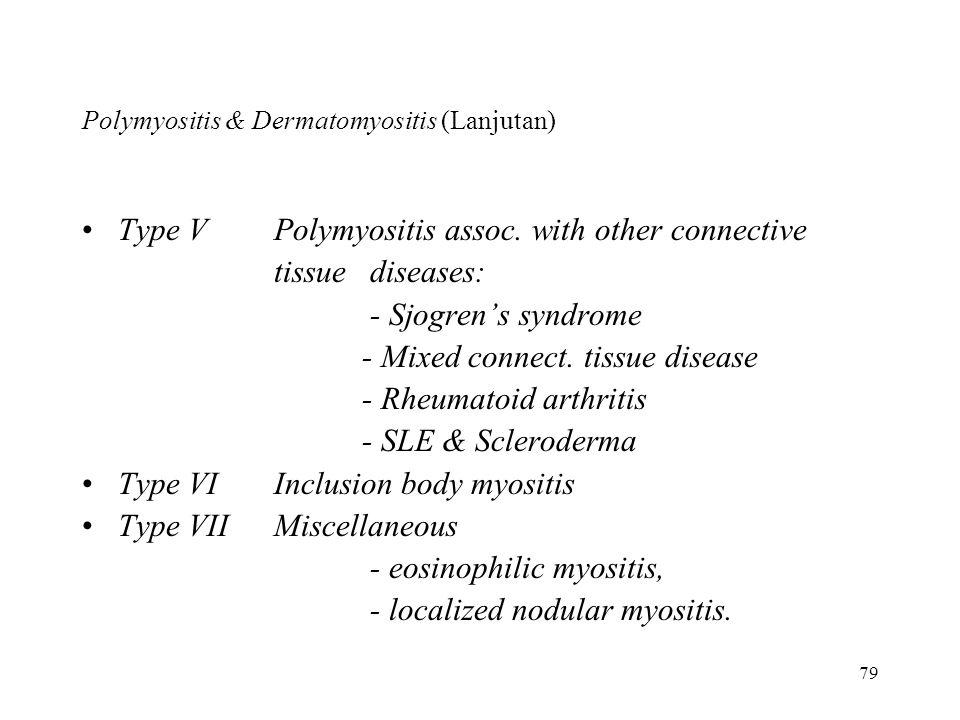 Polymyositis & Dermatomyositis (Lanjutan)