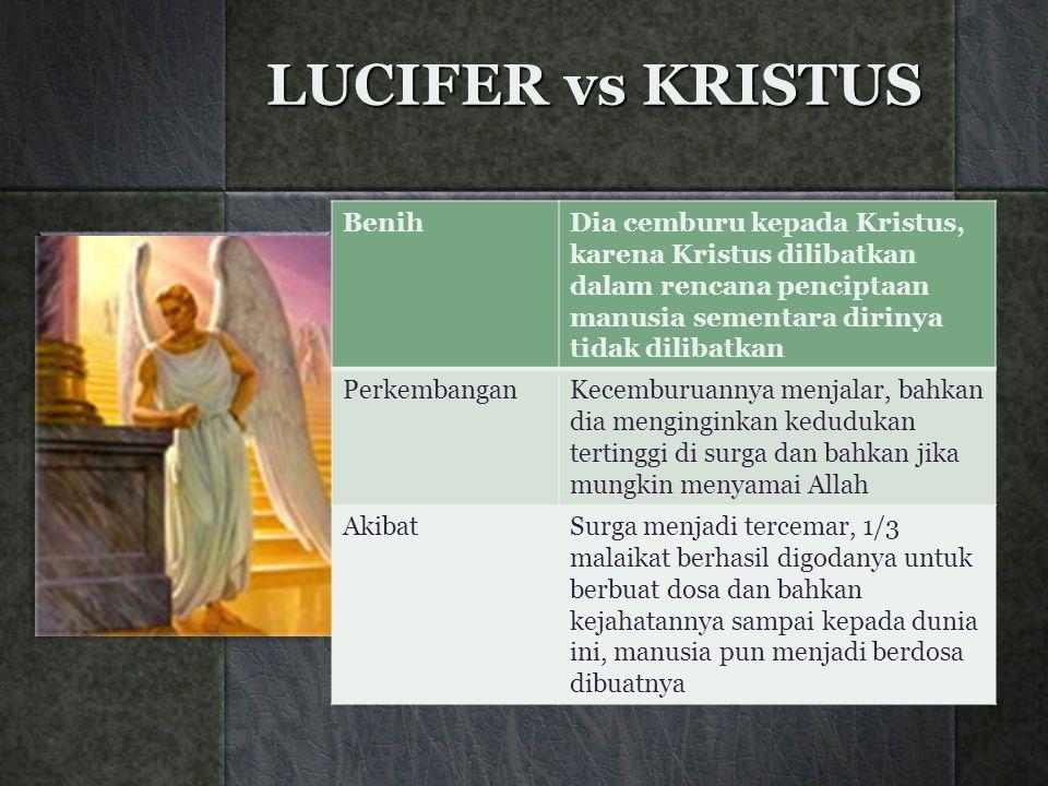 LUCIFER vs KRISTUS Benih