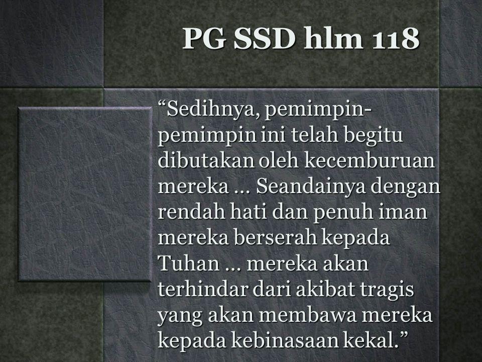 PG SSD hlm 118