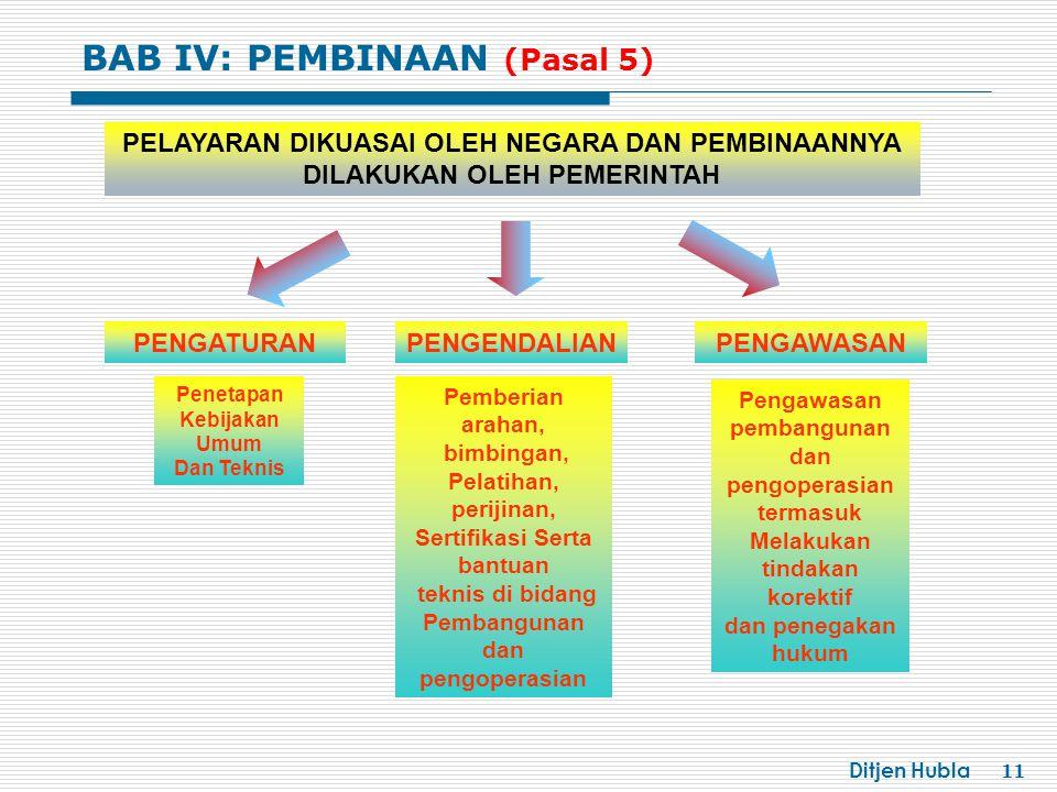 BAB IV: PEMBINAAN (Pasal 5)