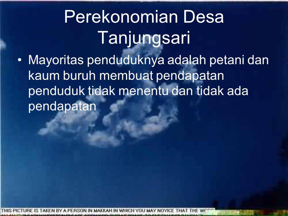 Perekonomian Desa Tanjungsari