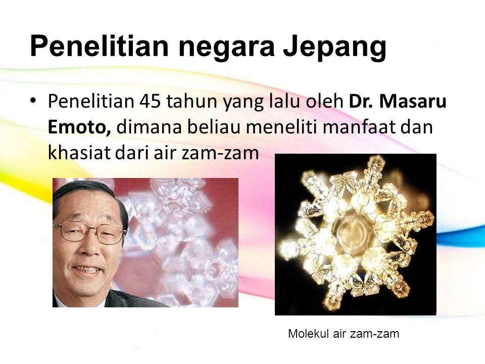 Penelitian negara Jepang