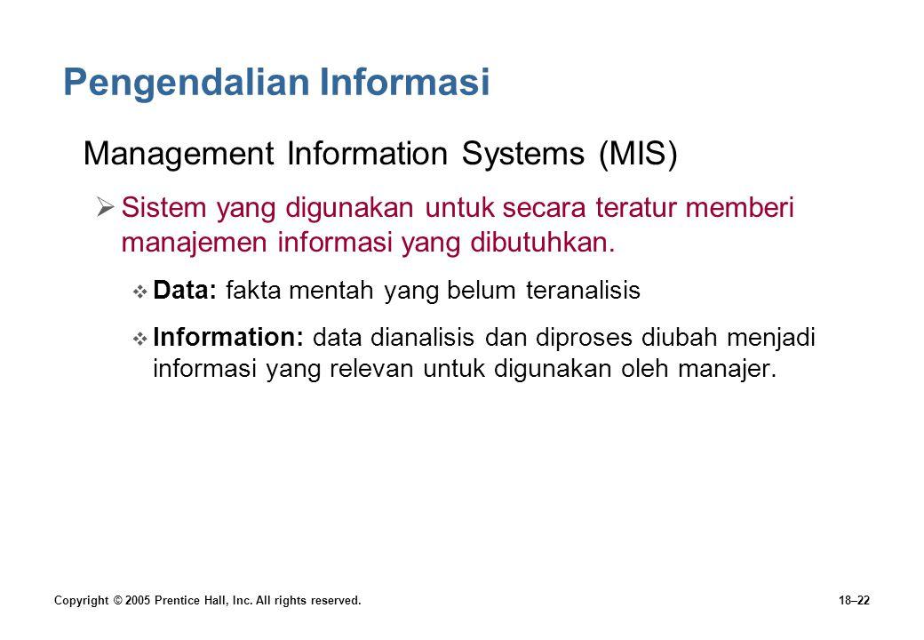 Pengendalian Informasi