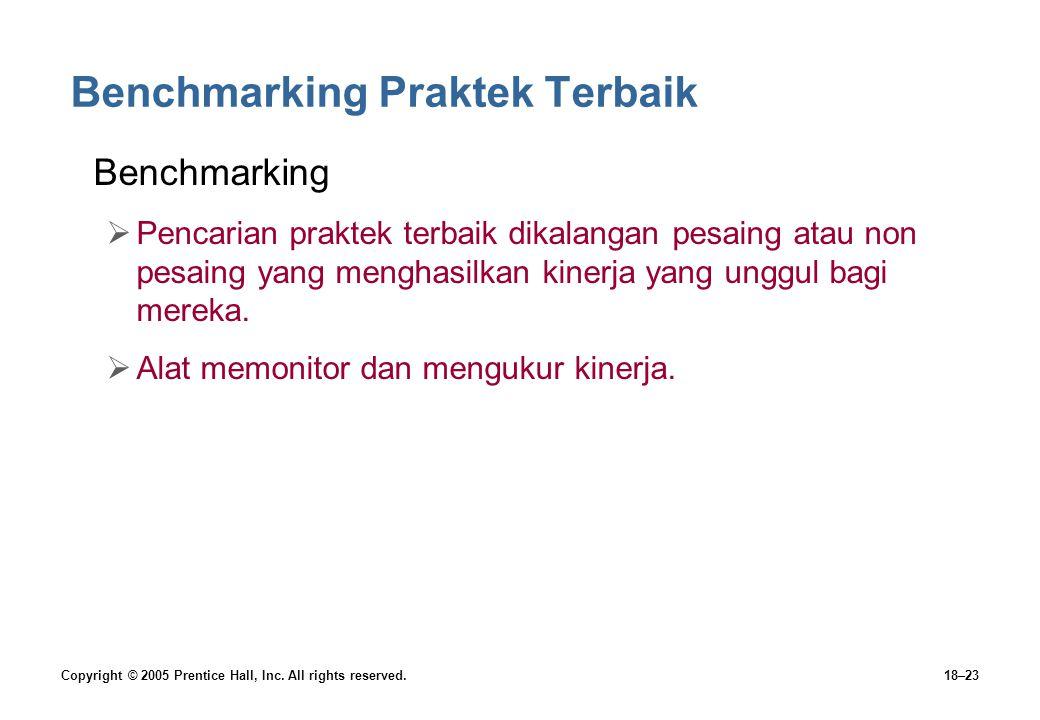 Benchmarking Praktek Terbaik