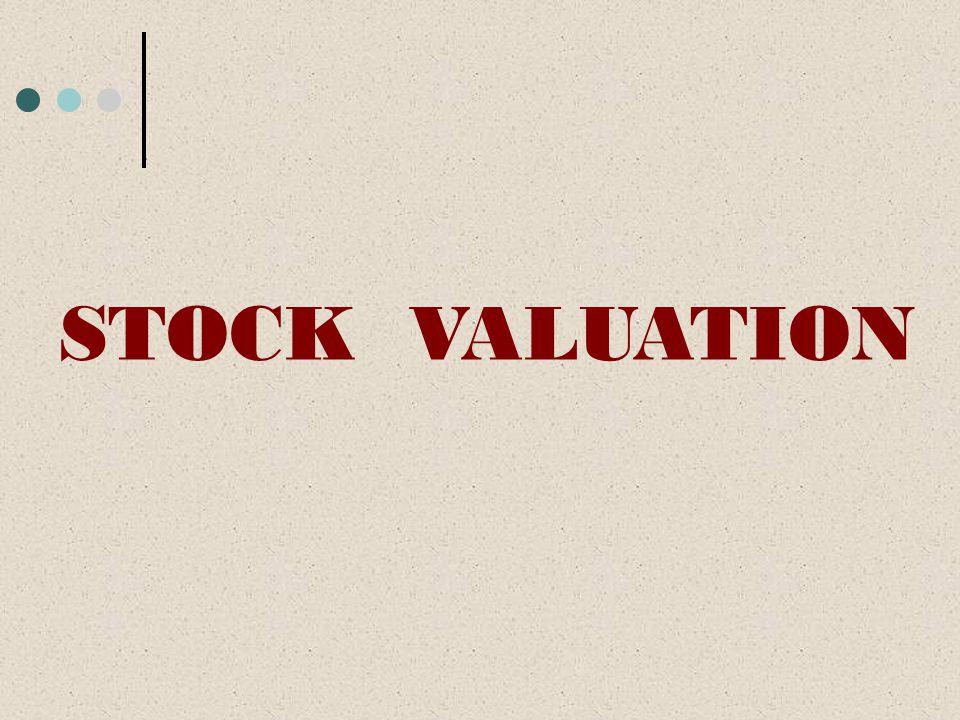 STOCK VALUATION Mengenal Harga Wajar Saham