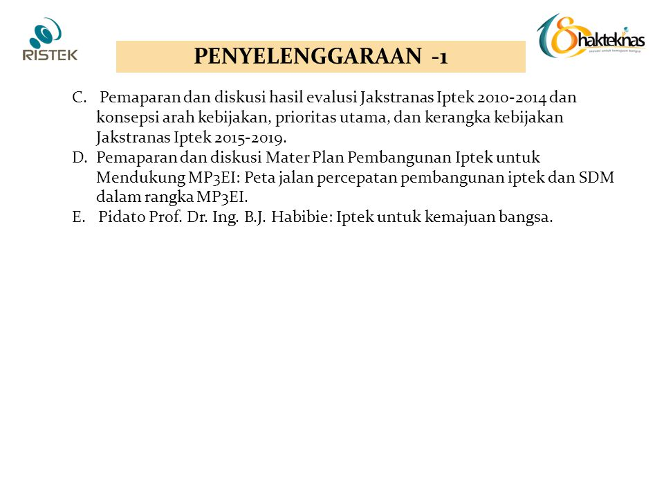 PENYELENGGARAAN -1