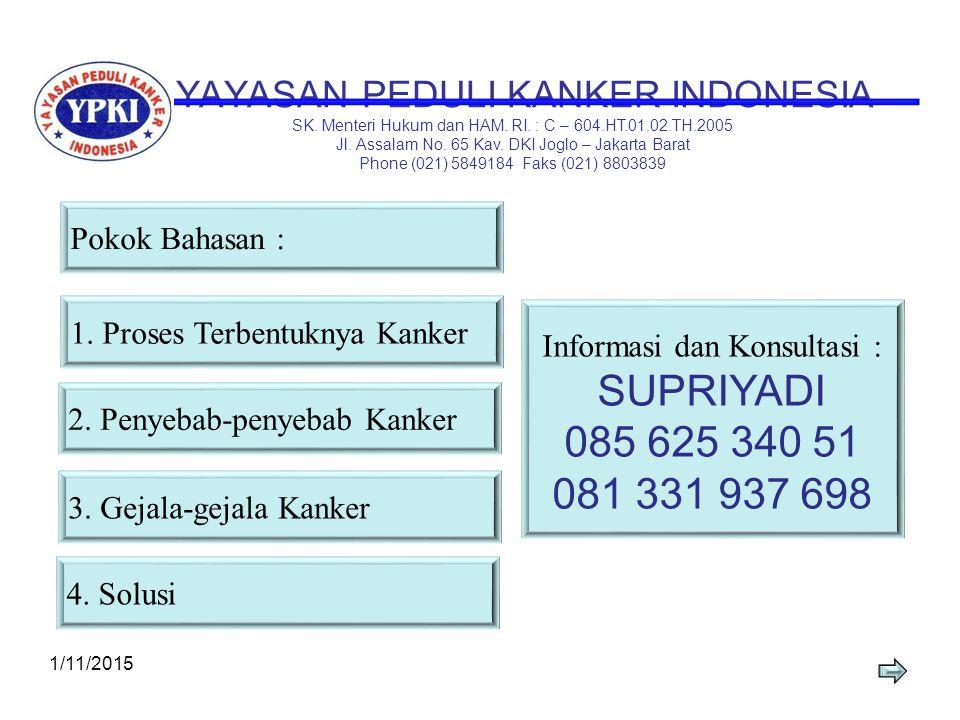 YAYASAN PEDULI KANKER INDONESIA