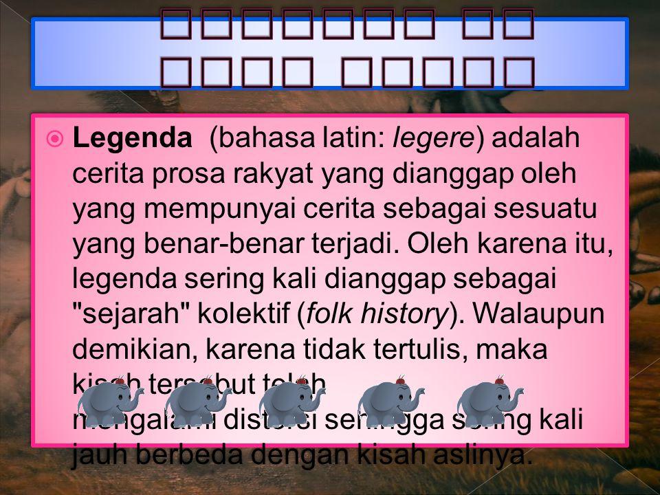 Legenda di Jawa Barat
