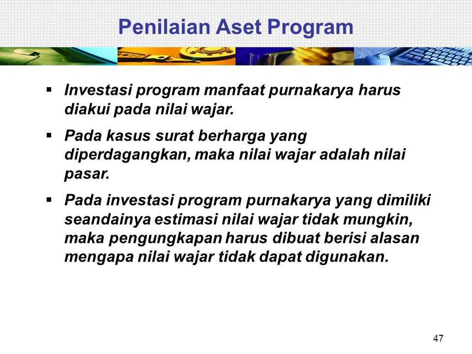 Penilaian Aset Program