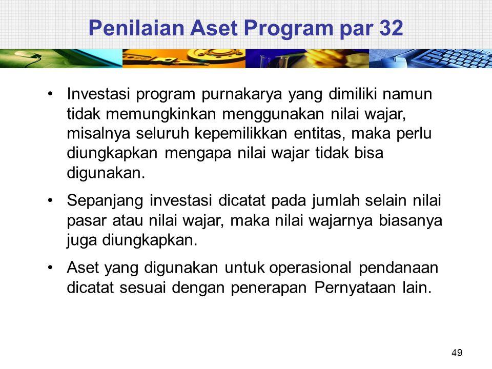 Penilaian Aset Program par 32