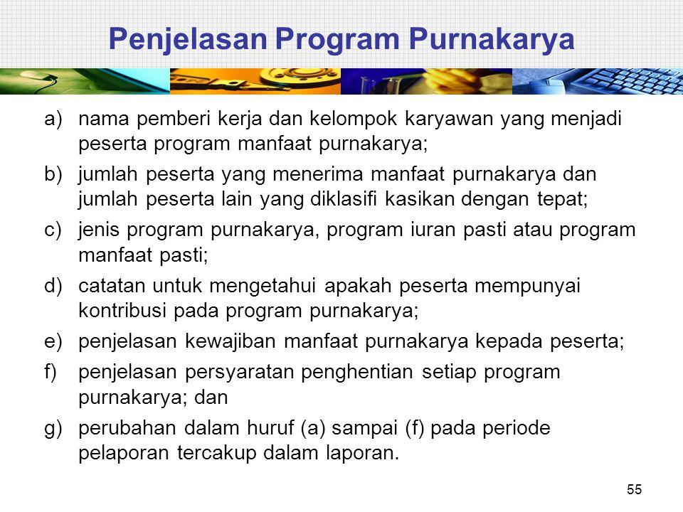 Penjelasan Program Purnakarya