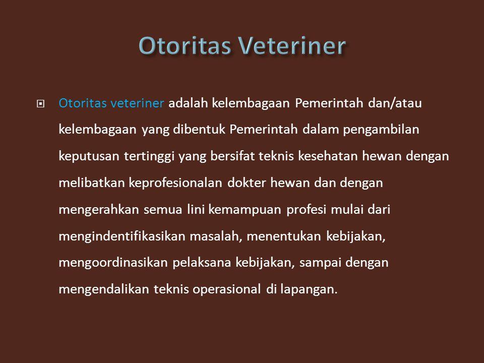 Otoritas Veteriner