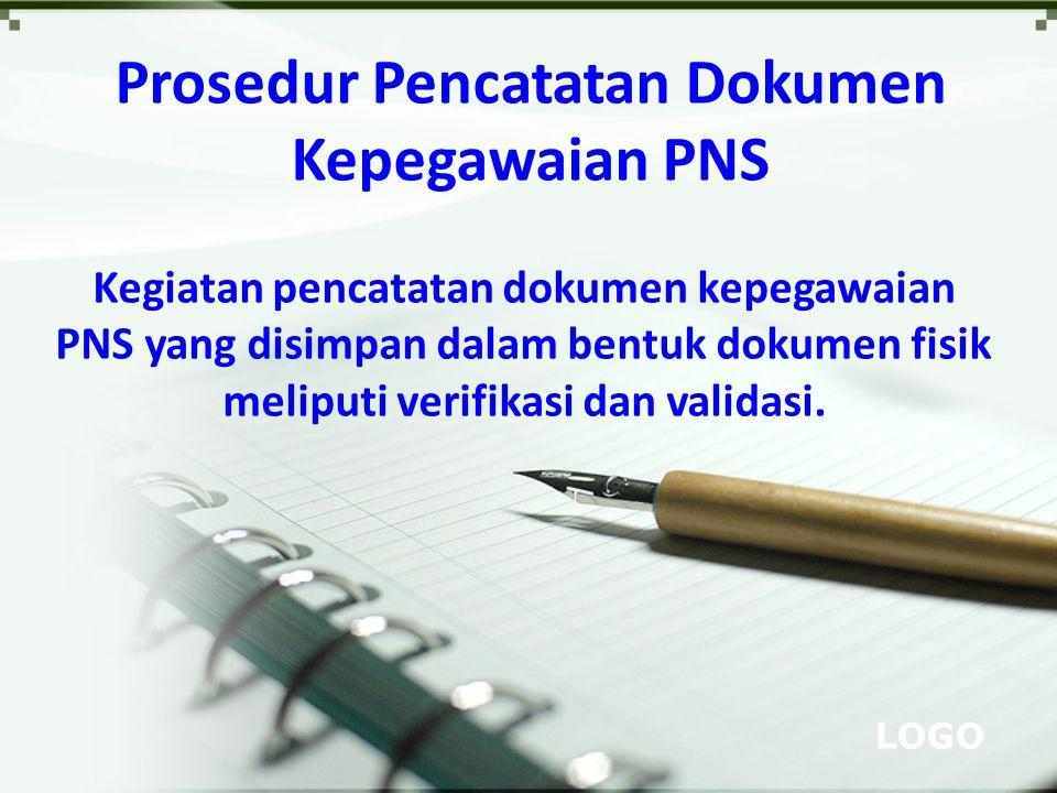 Prosedur Pencatatan Dokumen Kepegawaian PNS
