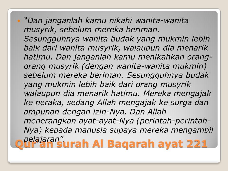 Qur'an surah Al Baqarah ayat 221
