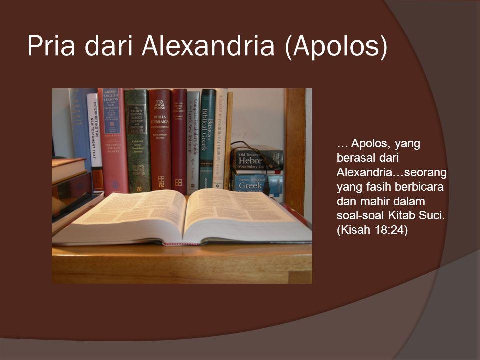 Pria dari Alexandria (Apolos)