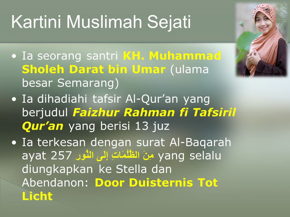 Kartini Muslimah Sejati
