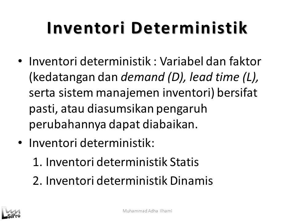 Inventori Deterministik