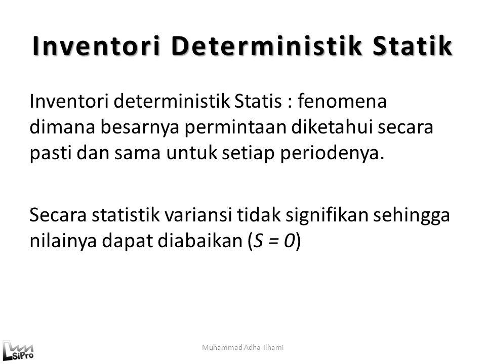 Inventori Deterministik Statik