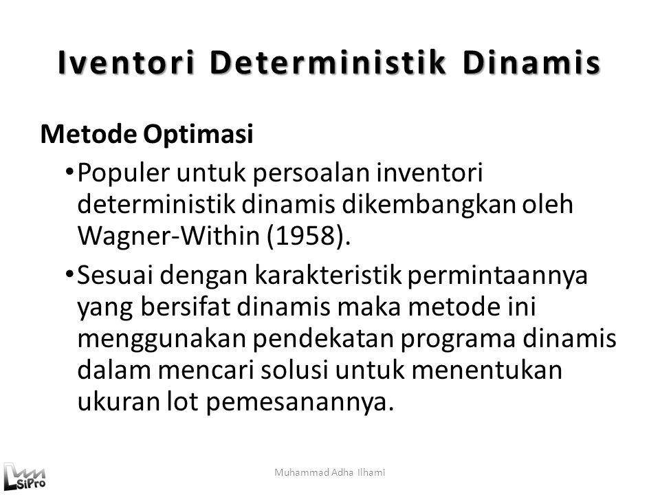 Iventori Deterministik Dinamis