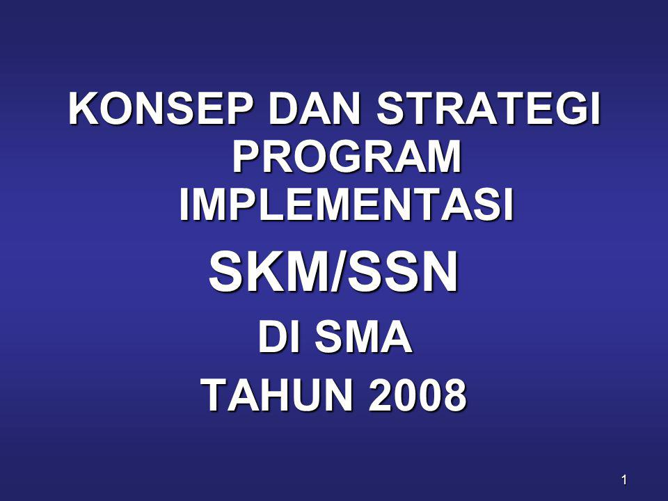KONSEP DAN STRATEGI PROGRAM IMPLEMENTASI