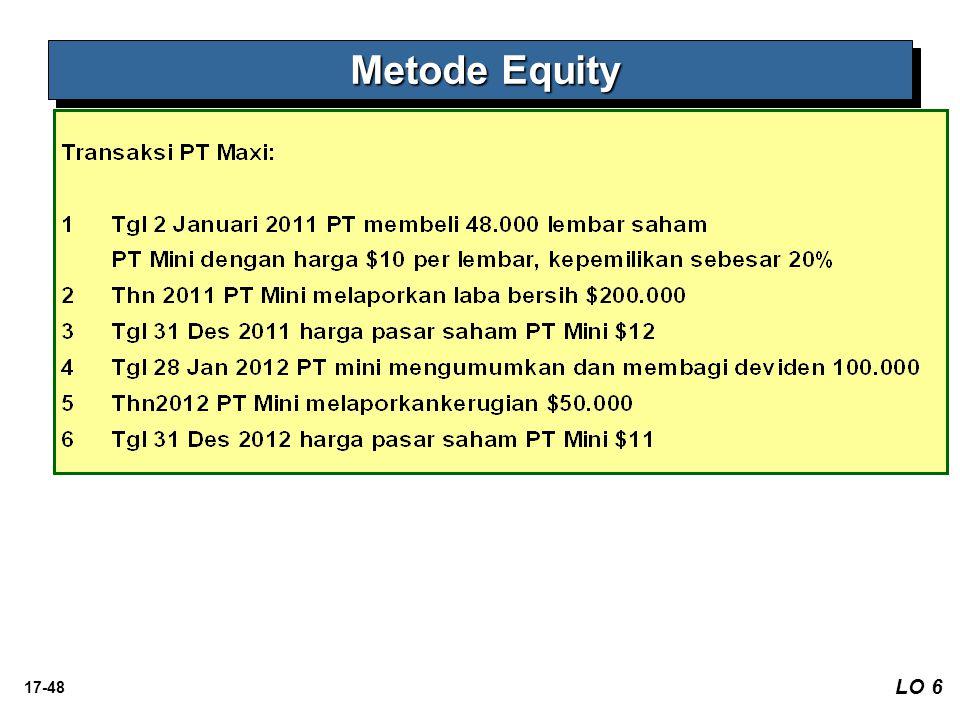 Metode Equity LO 6