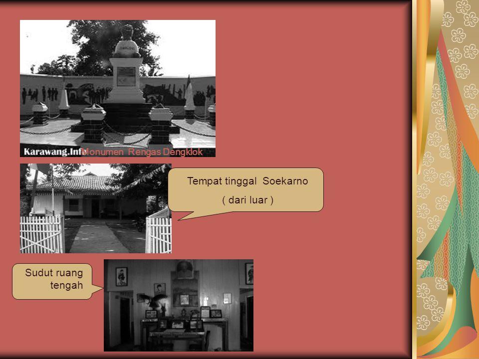 Tempat tinggal Soekarno