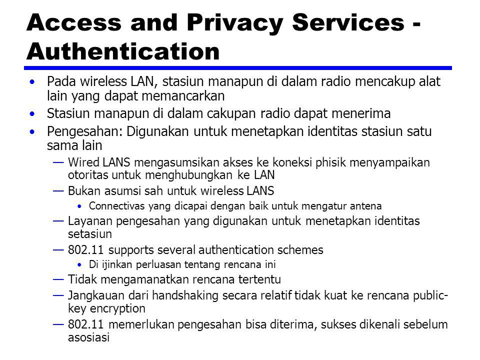 Access and Privacy Services - Authentication