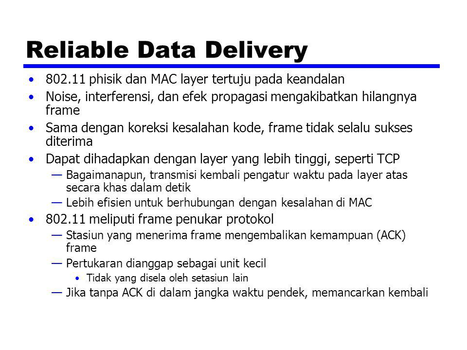 Reliable Data Delivery