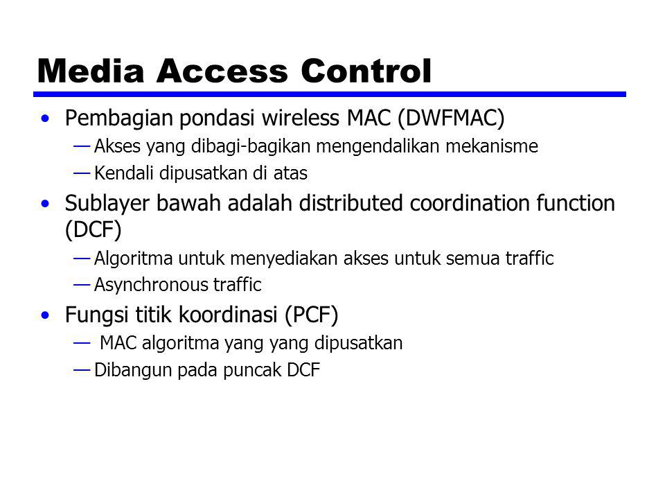 Media Access Control Pembagian pondasi wireless MAC (DWFMAC)