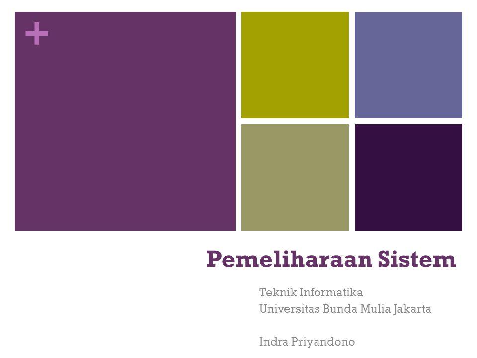 Teknik Informatika Universitas Bunda Mulia Jakarta Indra Priyandono